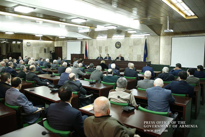 "Karen Karapetyan: ""Our main capital - the man - must be educated and literate"""
