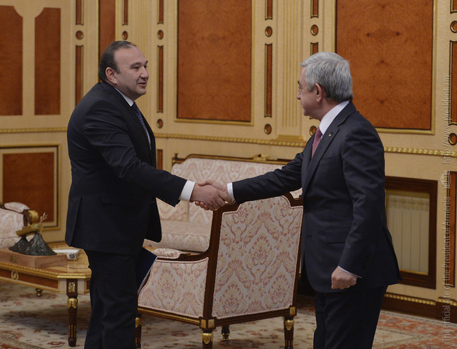 Minister of education and science reported to the President of Armenia on the works and programs carried out in the areas of general and higher education