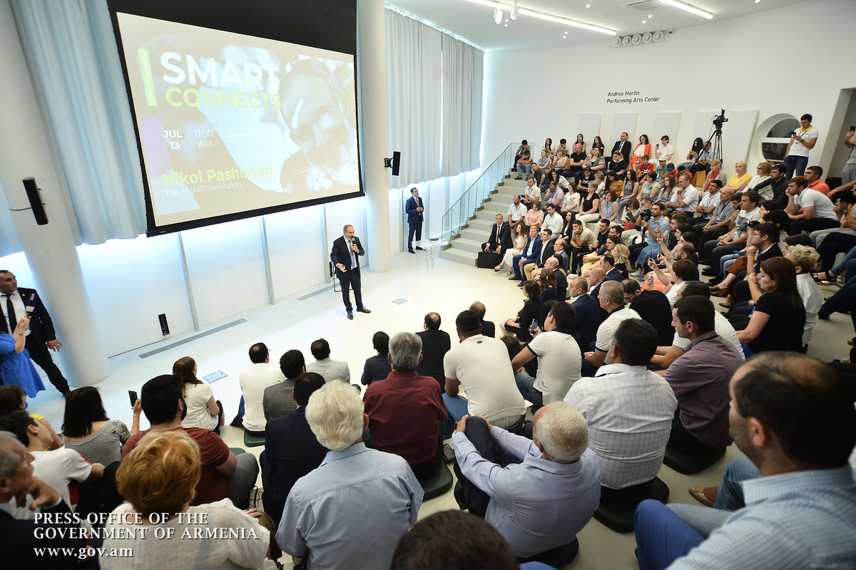 """We have ideas, intellect and talent, which means that we will win, and this center is one of the most important symbols of our victory"" - Nikol Pashinyan, Anna Hakobyan visit COAF Smart Center"